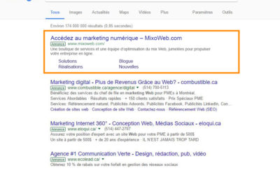 MixoWeb est un partenaire Google