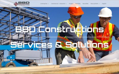 BBD Constructions choisit Coutu communication pour son lancement marketing