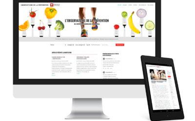 Observatoire de la prévention de l'Institut de Cardiologie de Montréal – Site Web, image de marque et optimisation des réseaux sociaux