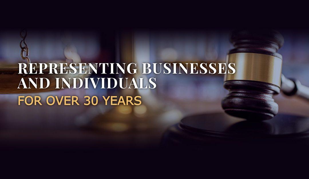 Site Web pour un bureau d'avocats