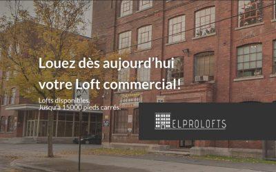 Nouveau site Web pour une entreprise de location de condos commerciaux