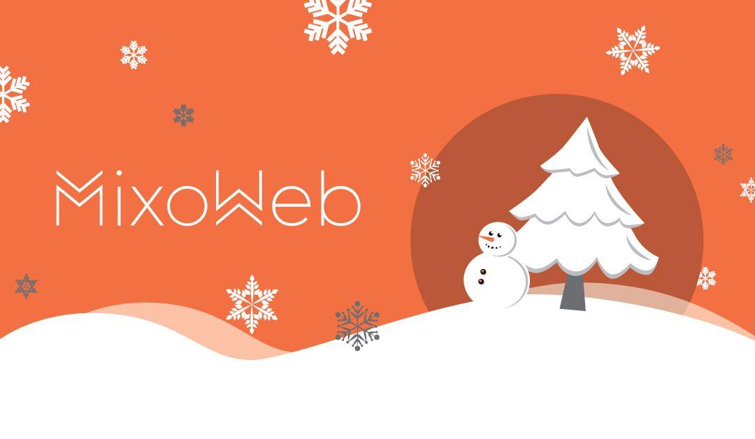 MixoWeb vous souhaite de Joyeuses Fêtes!