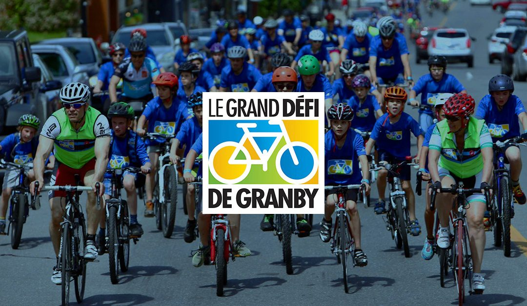 Don d'un site Web au Grand défi de Granby!
