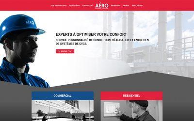 Nouveau site Web pour AÉRO Mécanique Turcotte!