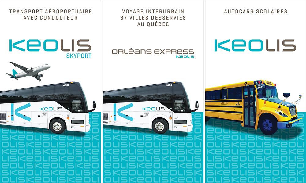 Des affiches pour Keolis