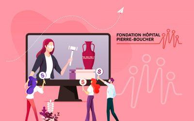 Encan virtuel au profit de la Fondation Hôpital Pierre-Boucher